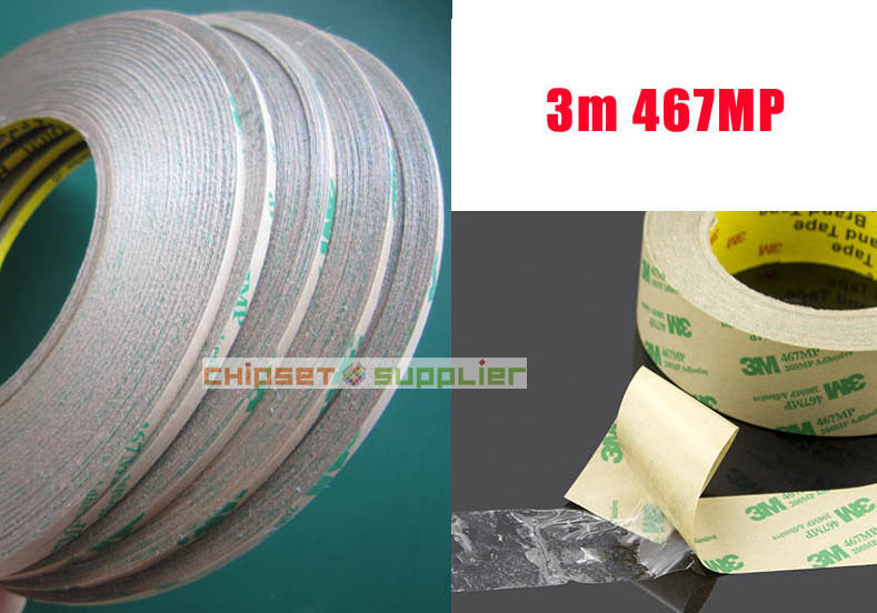 100 roll 3mm Ultra Thin 3M 467MP 200MP Adhesive Tape Free DHL