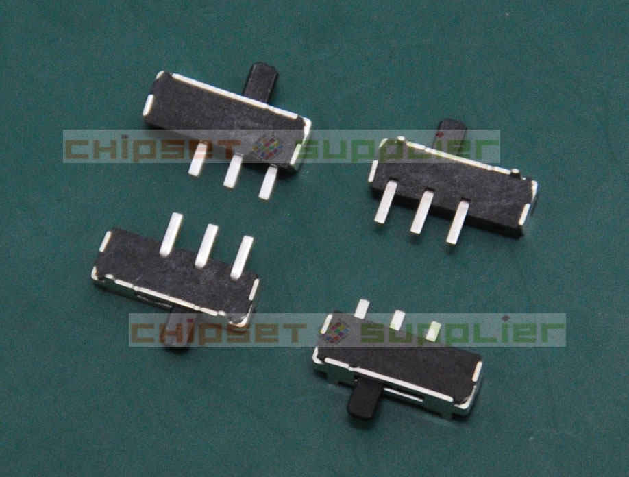 100pcs 3pin Miniature toggle switch fit for mp3, mp4