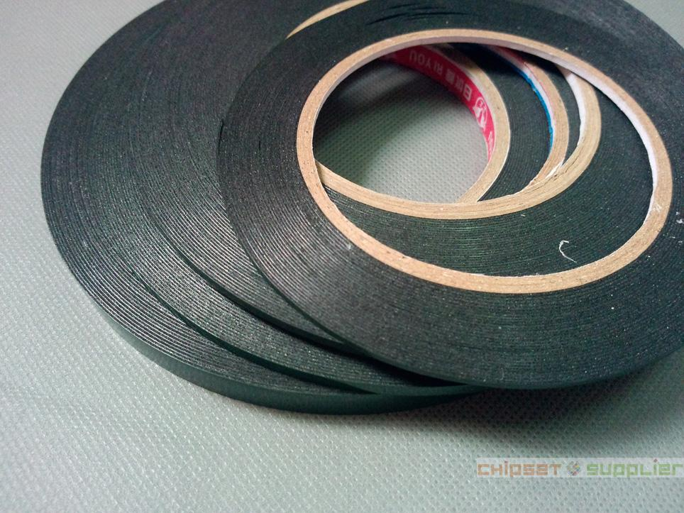 10 roll 4mmx0.5mmx20M Double Sided Adhesive Black Foam Tape for phone tablet mini pad gps Gasket Repair, Dust proof