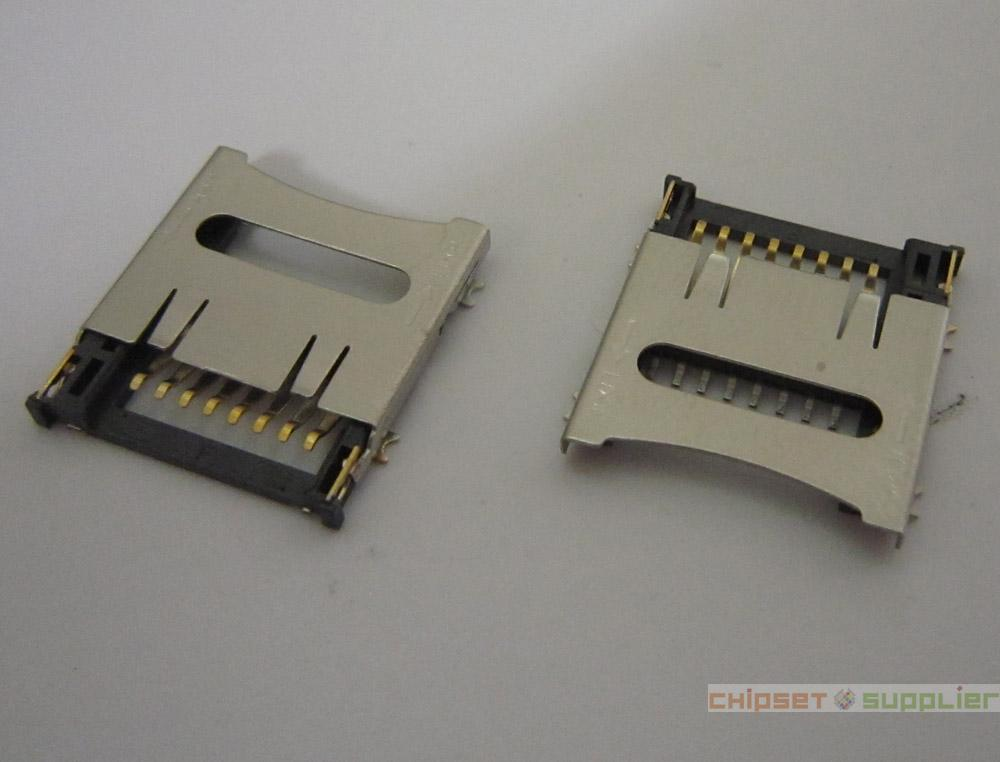 8pin Micro SD card slot connector, SMD 4 Fixed feet TF card deck, fit for phone, tablet, Laptop MotherBoard, CS20111122