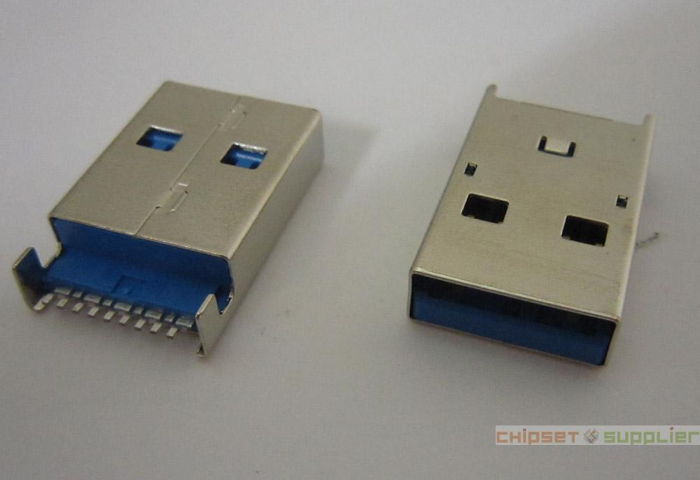 USB3.0 Male Connector fit for Data Cable, OMU30002