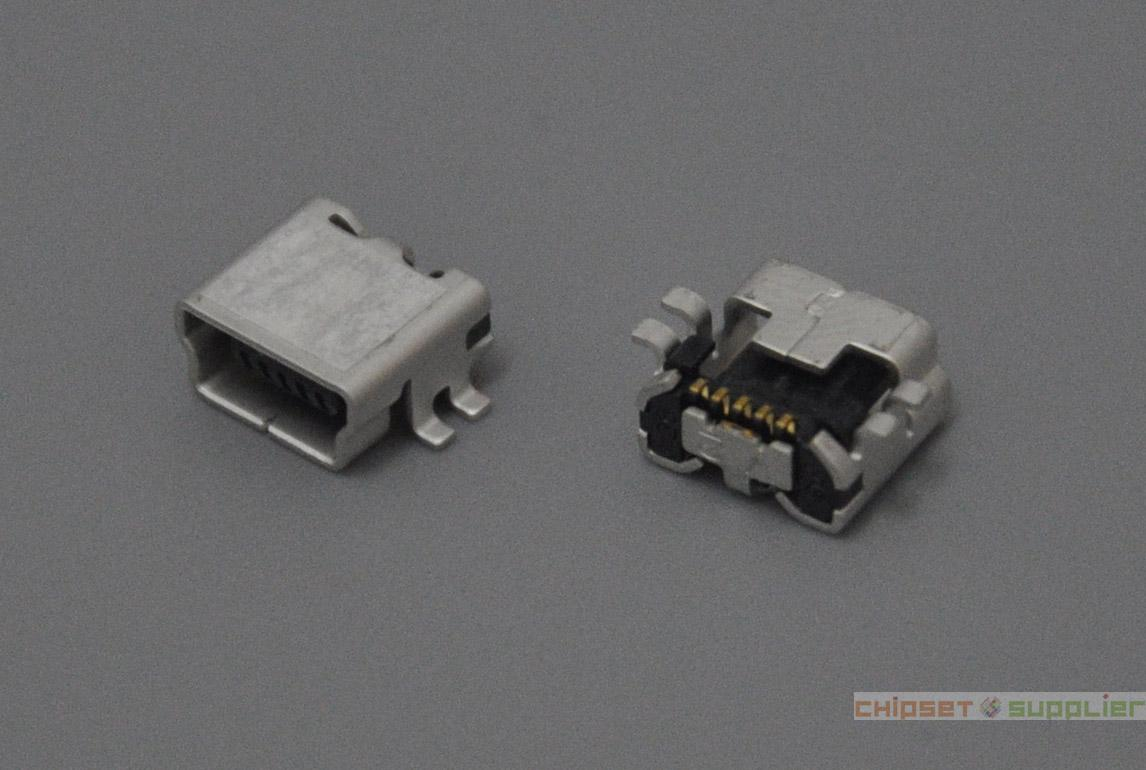 HIROSE 7mm Mini USB Female Connector fit for Digital Cameras and Tablet, MIU4M001