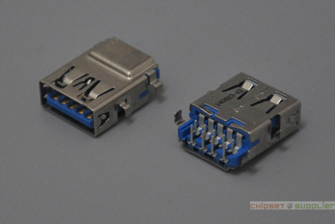 16mm USB3.0 Female Connector fit for Dell Inspiron 13z 5323 5320 3537 5537 5521 Series, U30140823-A3