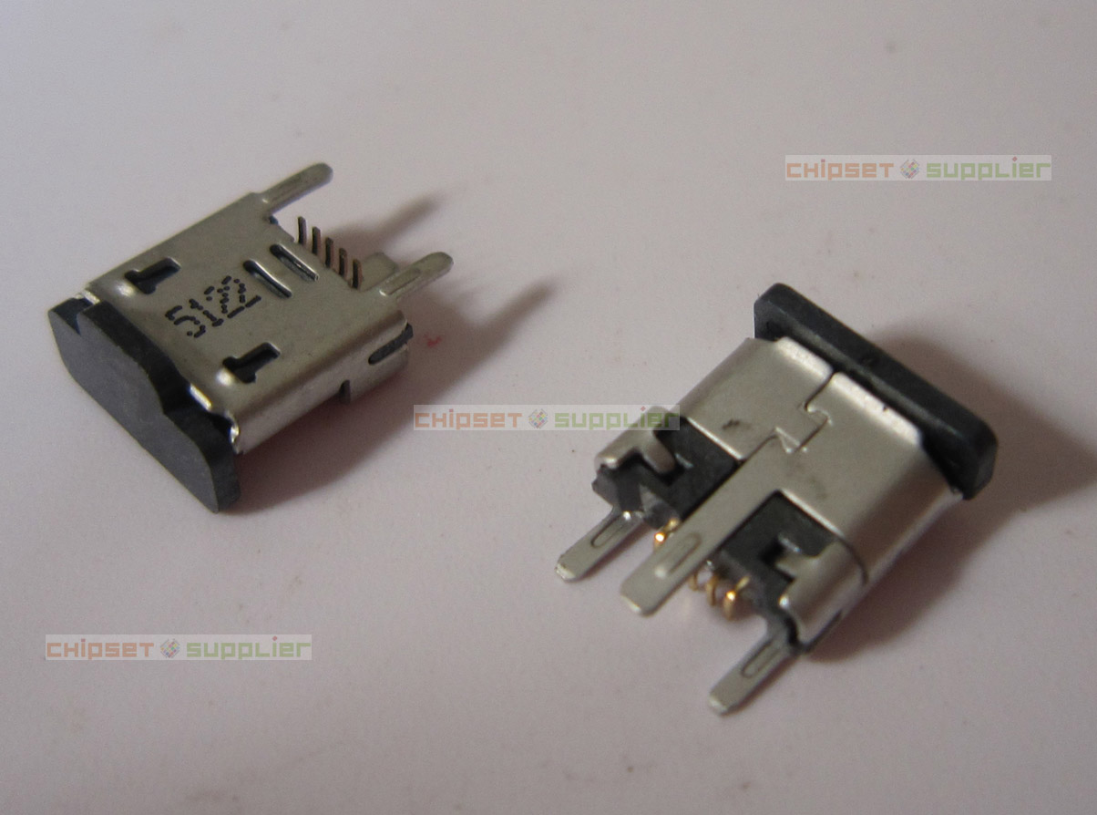 1051330011 Molex micro B USB 2.0 Receptacle Connector 5 Position Surface Mount