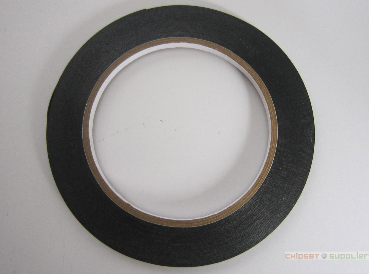 10 roll 2mm Width 0.3mm Thick Black Double Sided Foam Adhesive Tape