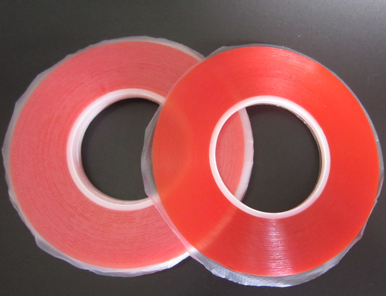 10 Rolls 1mmx 50M 0.2mm Thick High Strength Acrylic Two-side Glue Sticker Adhesive Sticker Tape