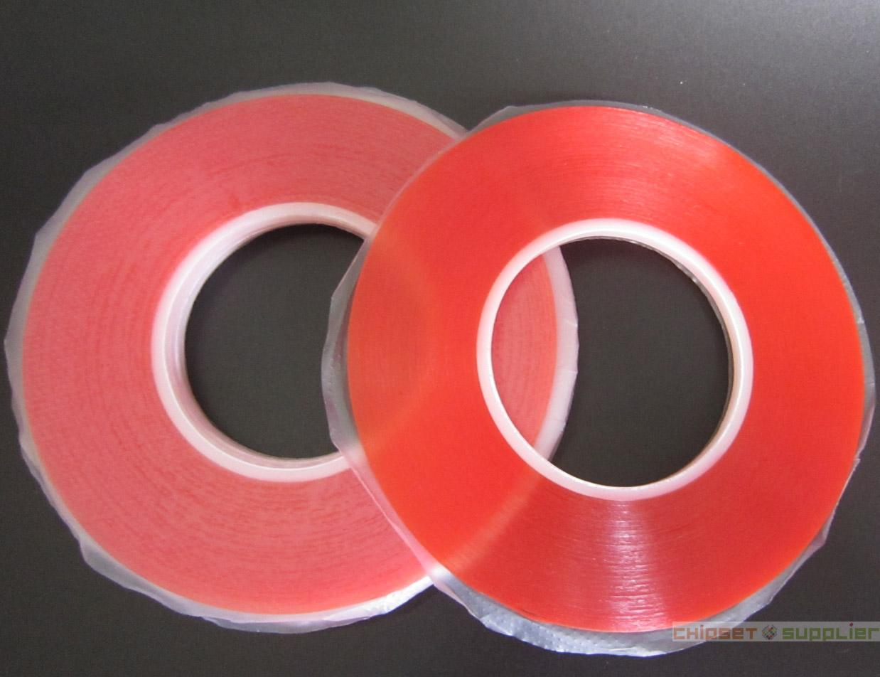10 Rolls 5mmx 50M 0.2mm Thick High Adhesion Double Sided Adhesive Tape for phone LCD Screen Repair